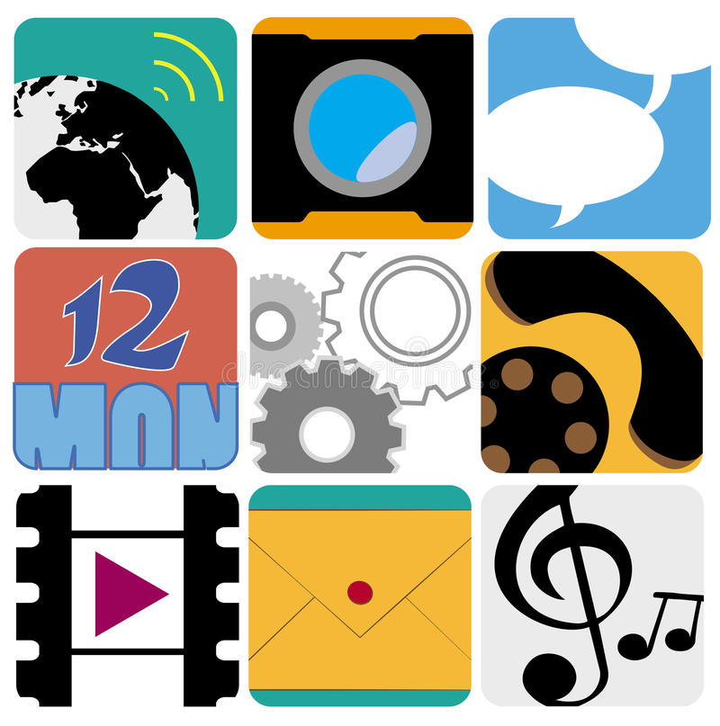Icons Vector stock photography