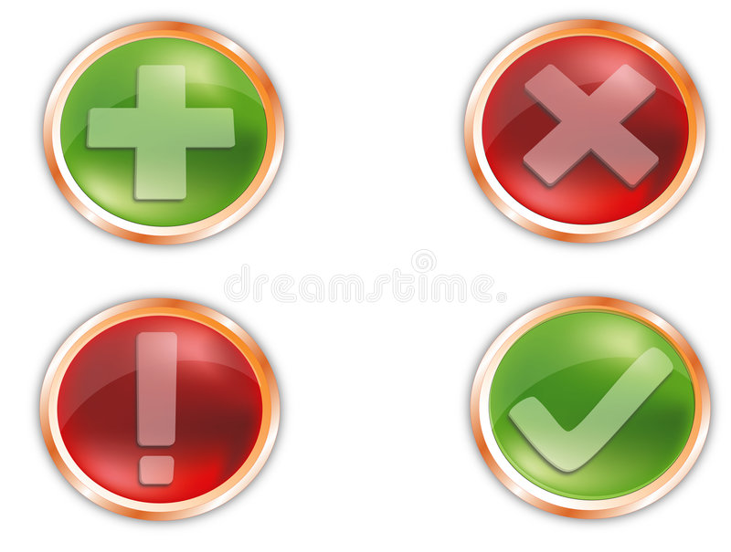 Download Icons web stock vector. Image of design, database, mail - 5333728