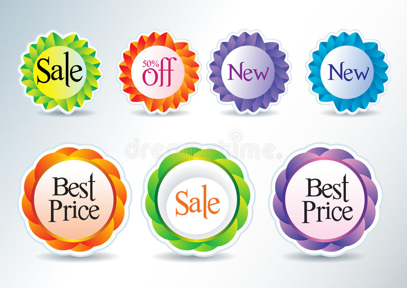 Download Icons for web and print stock vector. Image of element - 24426400