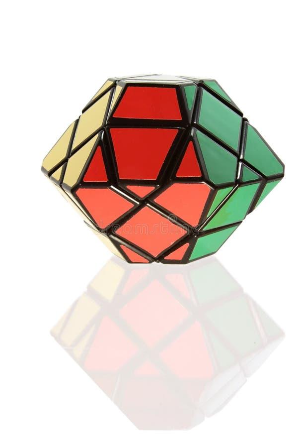 Icosahedron de Rubik imágenes de archivo libres de regalías