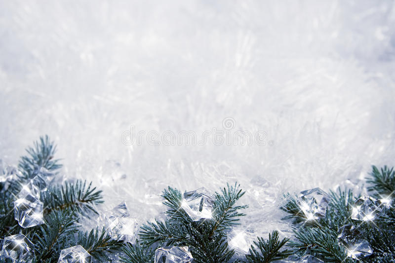 Icy bakgrund