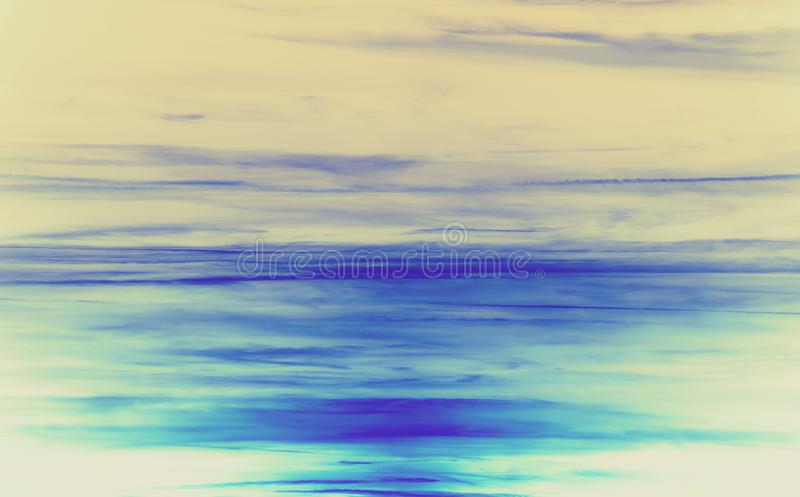 Icy blue and turquoise abstract background. royalty free illustration