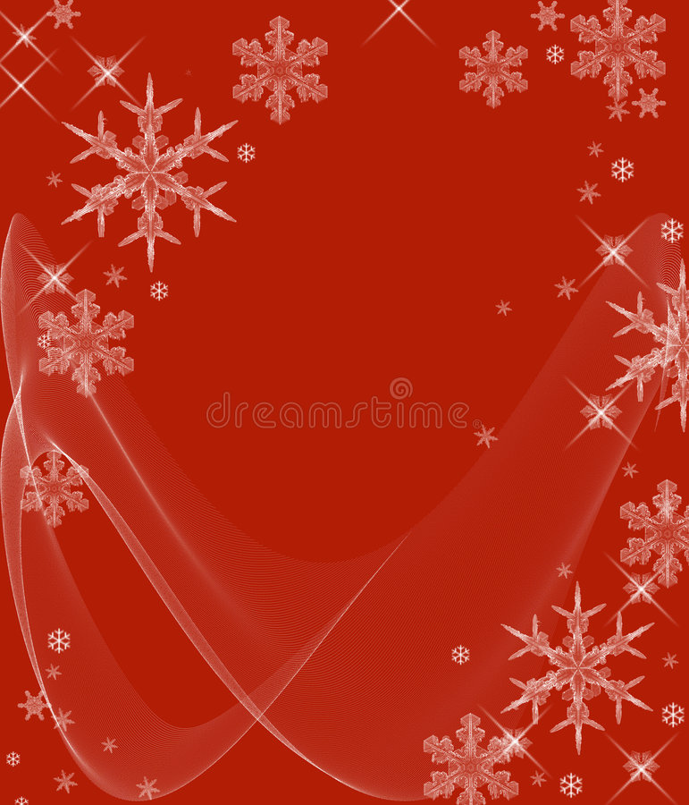 Download Icy Cold Snowflakes stock illustration. Image of abstract - 1618390