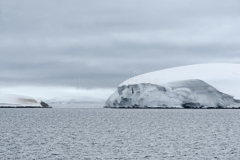Icy Landscape At Andvord Bay, Antarctic Peninsula.  stock photography