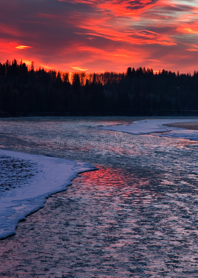 Free Icy River Stock Image - 479221
