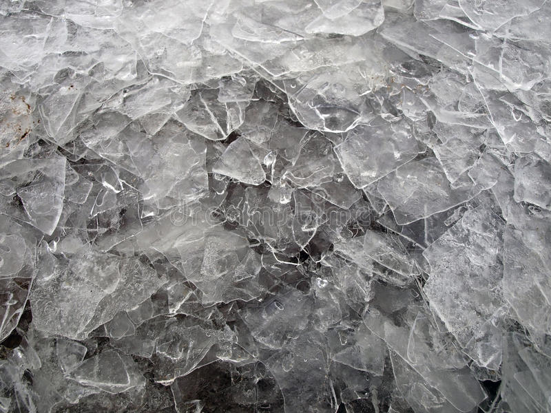 Icy texture royalty free stock images