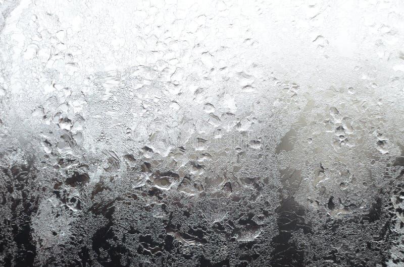Icy Window Surface stock photos