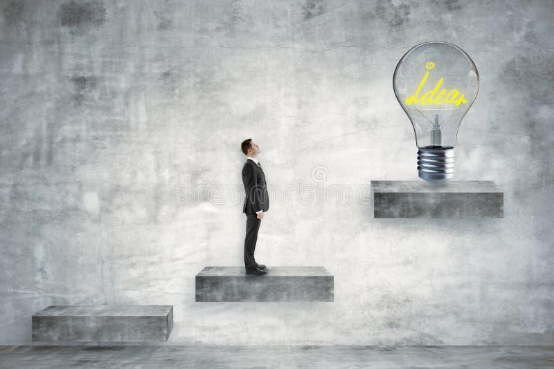 Idé och innovationbegrepp arkivbild