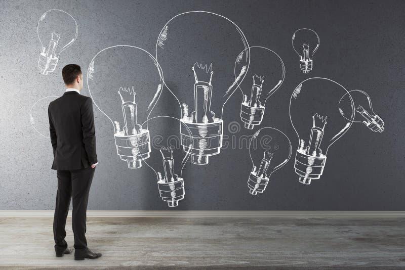 Idé och kreativitetbegrepp royaltyfri bild