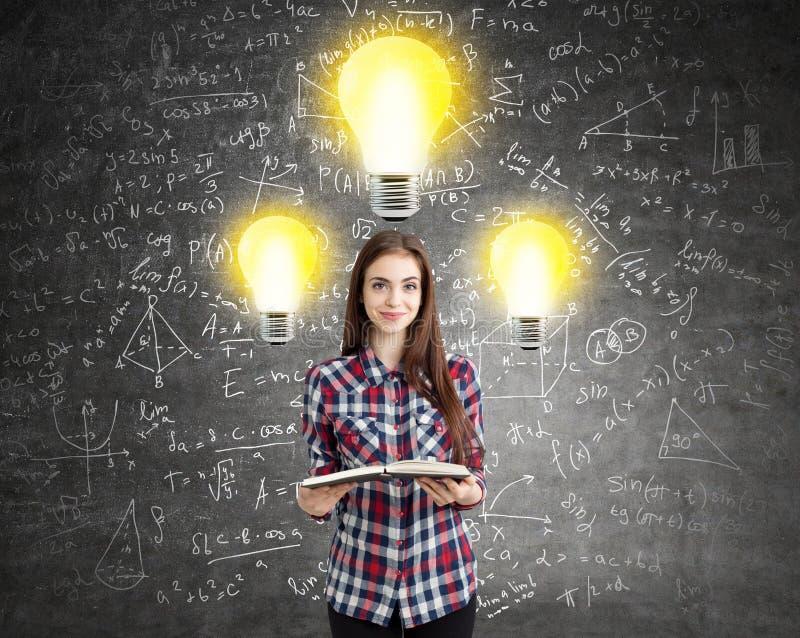 Idé- och utbildningsbegrepp royaltyfri fotografi