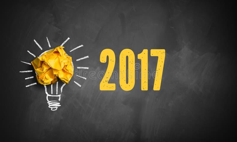 Idé som finnas för 2017 arkivfoto