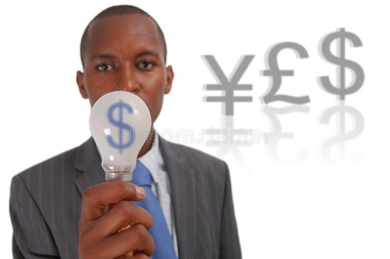 idé som gör pengar arkivbild