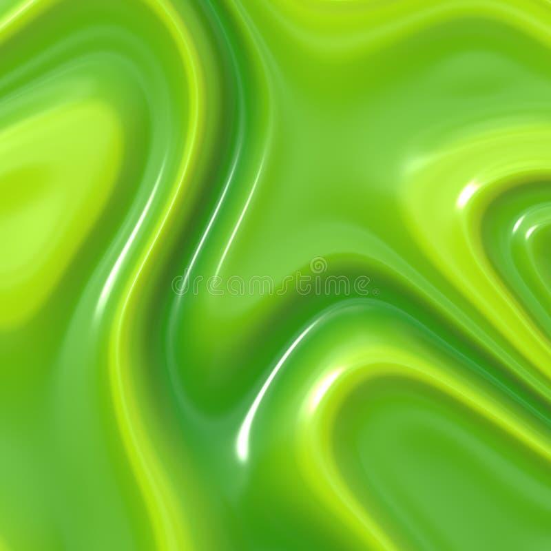Idéal crème vert de texture pour la menthe, la limette ou l'aloès illustration libre de droits
