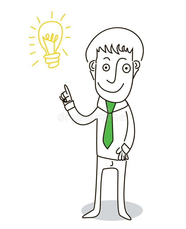 Idée illustration stock