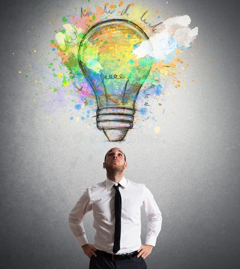 Idée créative image libre de droits