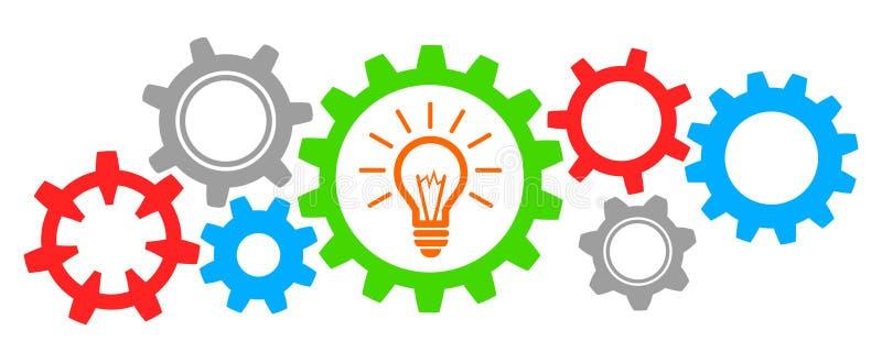 Idée d'affaires de générateur - pour des actions illustration stock