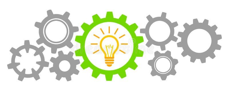 Idée d'affaires de générateur - vecteur illustration libre de droits
