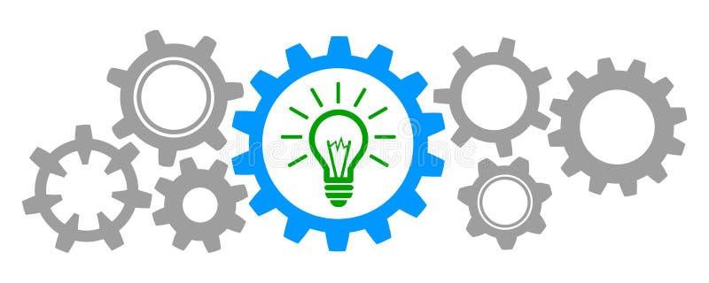 Idée d'affaires de générateur - vecteur illustration stock