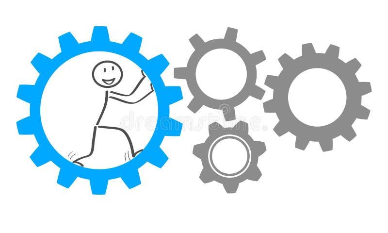 Idée d'affaires de générateur - vecteur illustration de vecteur