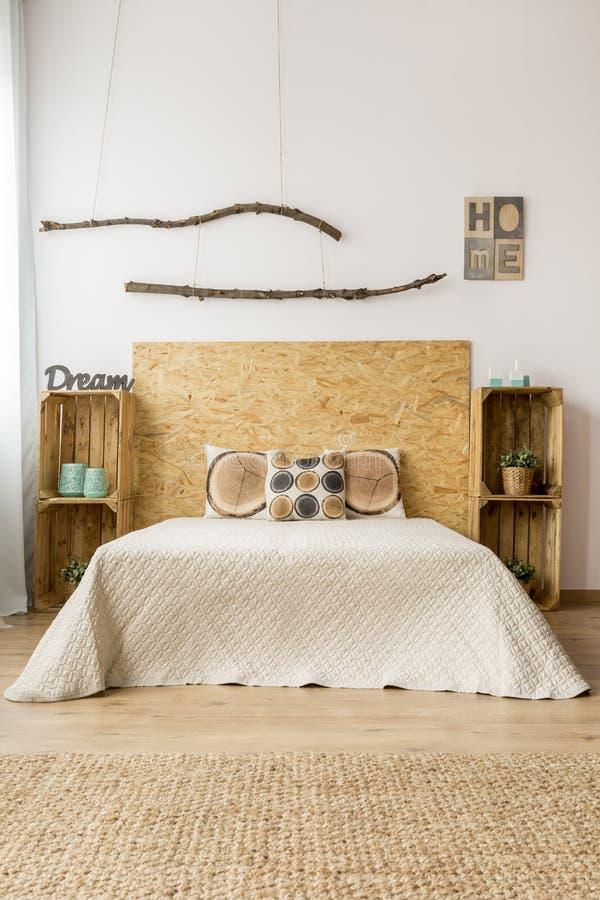 Idée de décor de chambre à coucher de chute photos stock