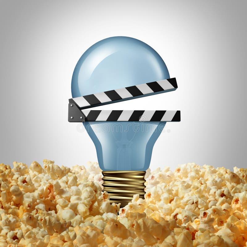 Idée de film illustration stock