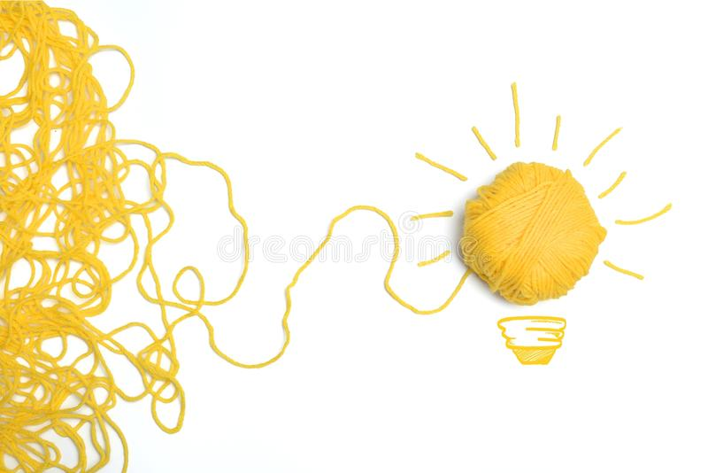 Idée et concept d'innovation image stock