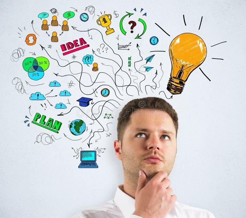 Idée et concept de finances image stock