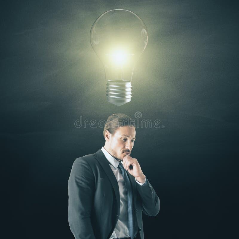 Idée et concept de solution photo libre de droits