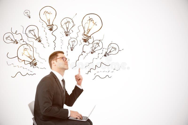 Idée et concept de solution photographie stock