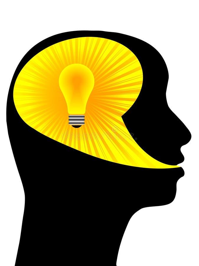 idée humaine illustration stock
