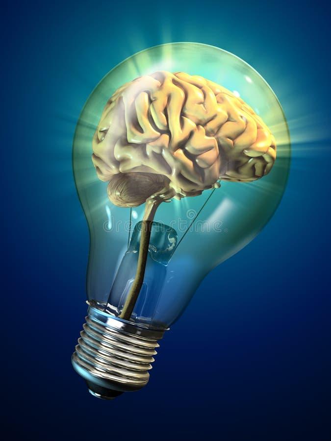 Idée lumineuse illustration de vecteur