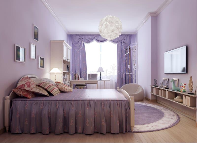 Idée lumineuse de pièce de la Provence image libre de droits