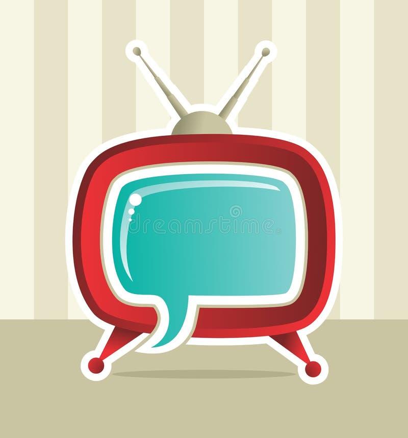 Idée sociale d'idée du Web TV de medias illustration libre de droits