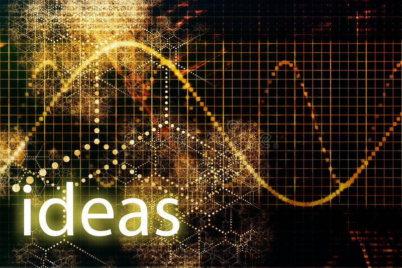 idéer stock illustrationer