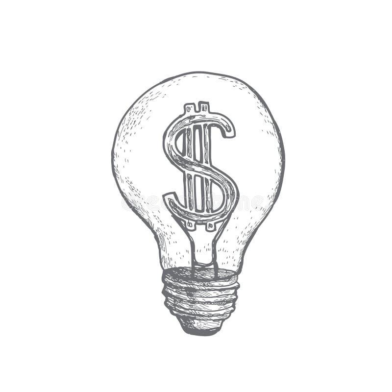 Idéer att göra pengar arkivbild