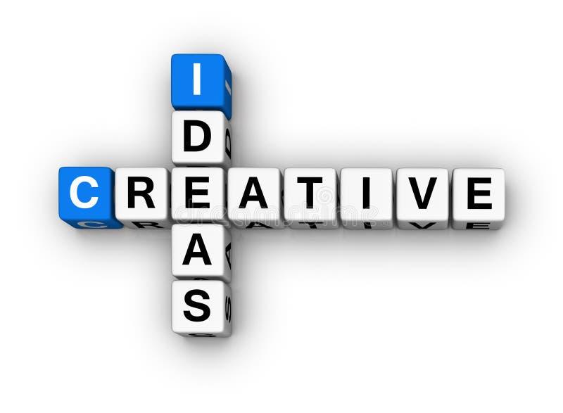 Idées créatrices illustration libre de droits