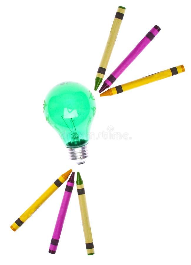 Idées créatrices images libres de droits