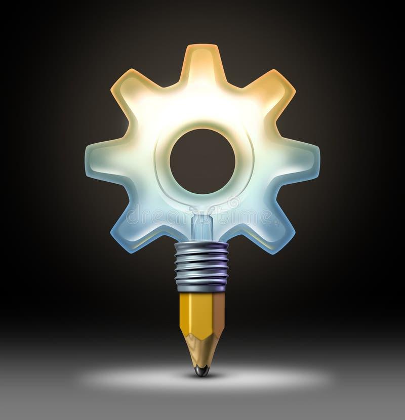 Idées d'affaires illustration stock