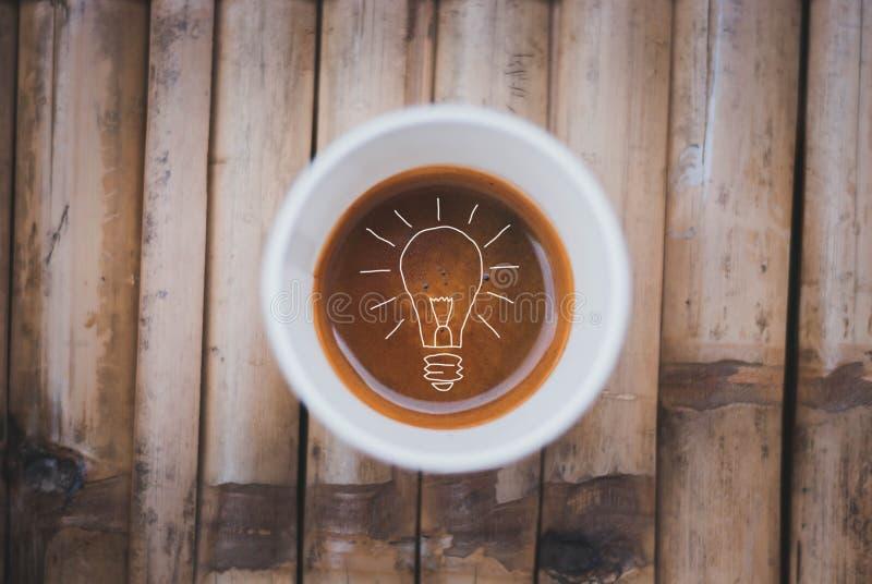Idées de tasse de café images libres de droits