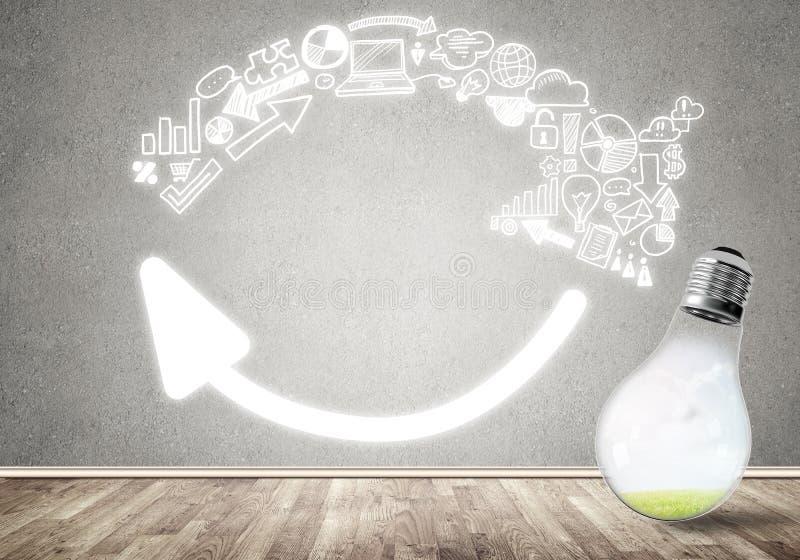 Download Idées efficaces de vente image stock. Image du ampoule - 77151913