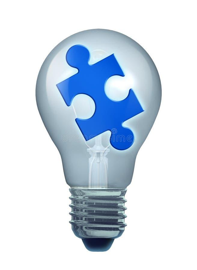 Idées et solutions illustration stock