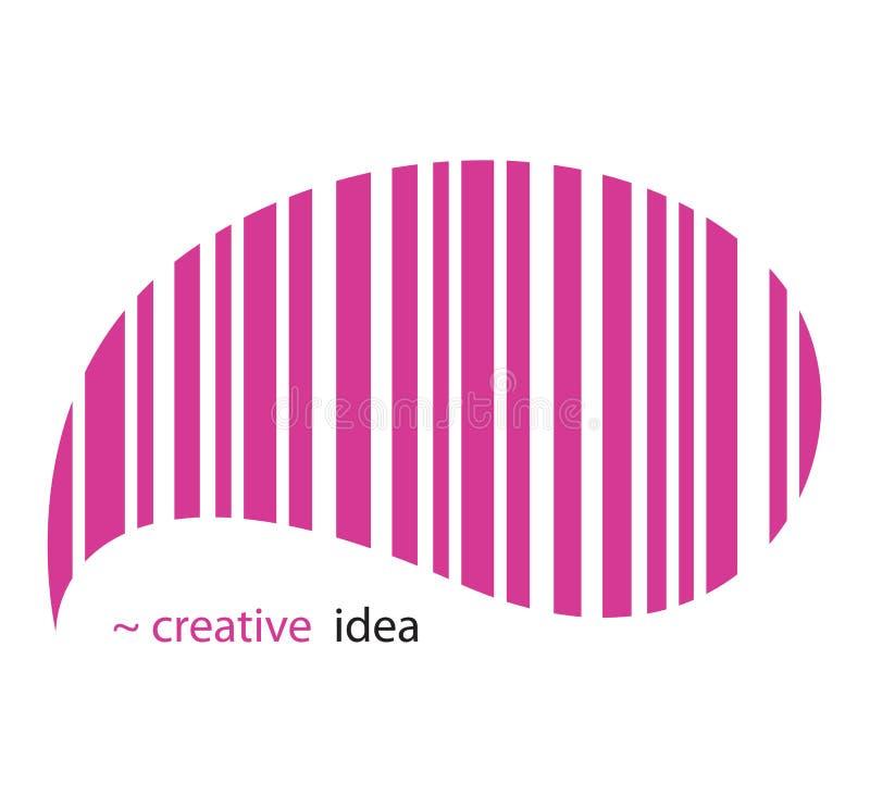 Idéia creativa ilustração do vetor