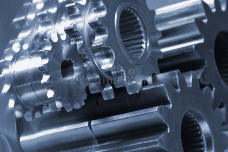idéia das Mecânico-peças imagem de stock