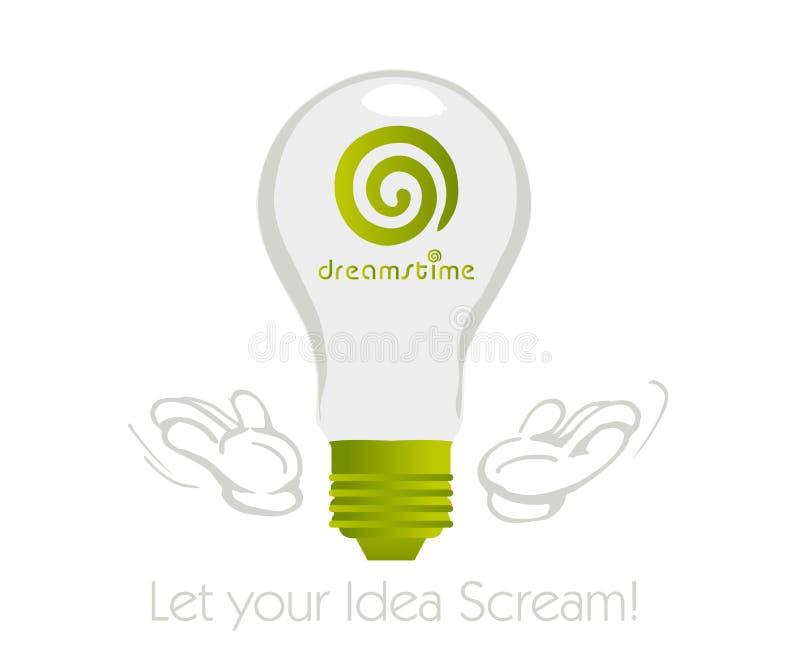 Idéia de Dreamstime ilustração stock
