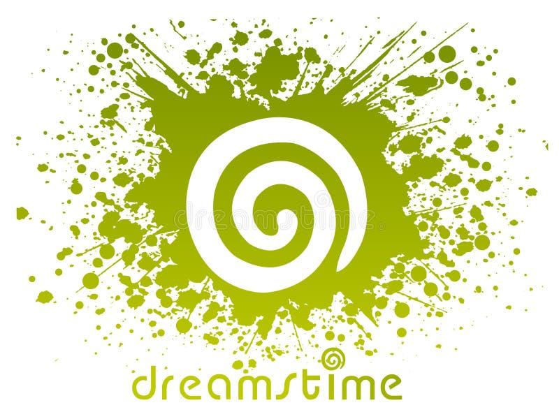 Idéia do logotipo de Dreamstime ilustração stock