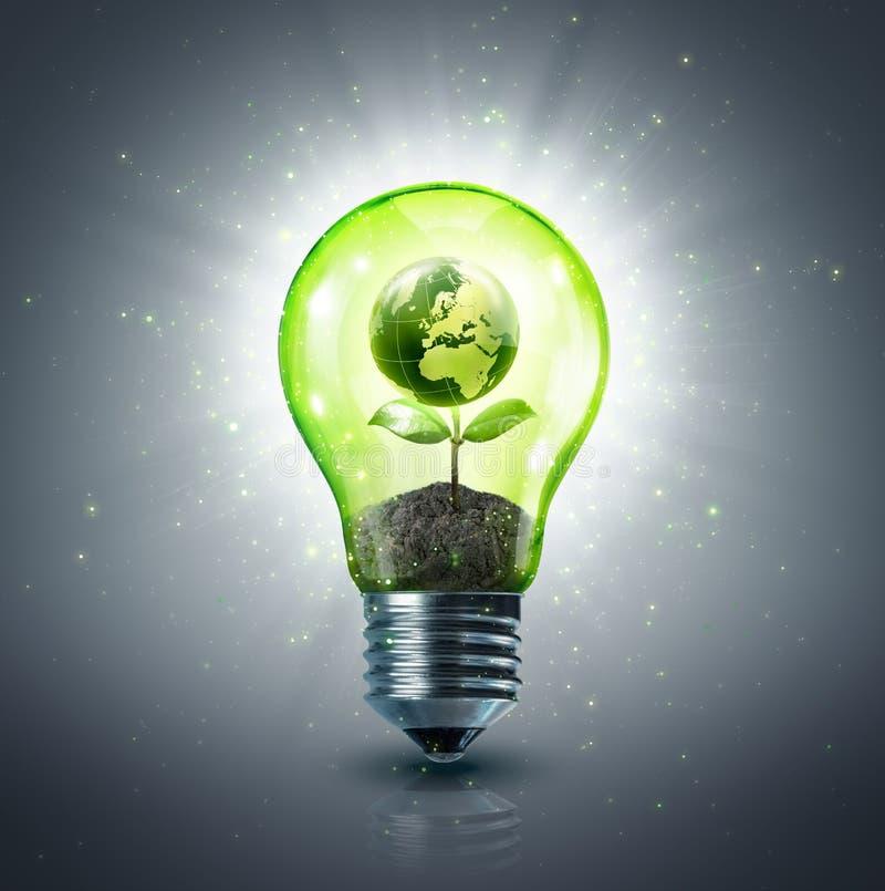 Idéia ecológica foto de stock