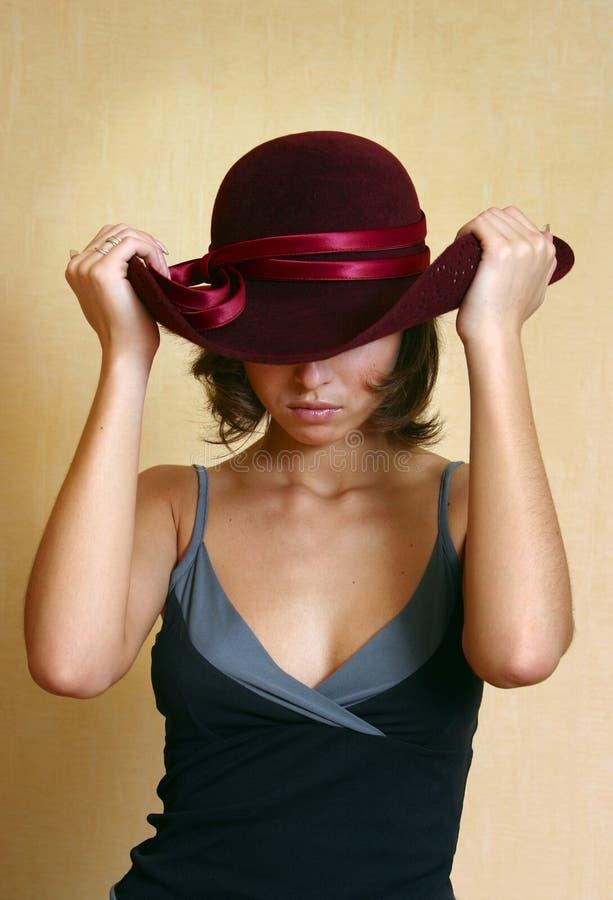 Idéias em um chapéu imagens de stock royalty free