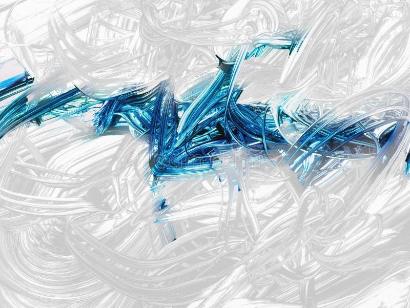 Idérik abstrakt hand målad bakgrund, tapet, textur, c royaltyfri illustrationer