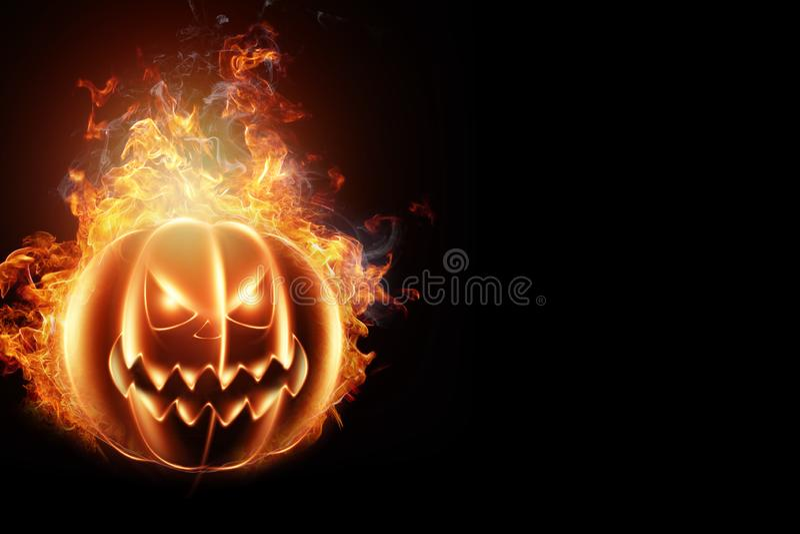 Idérik bakgrund, brandpumpa på en mörk bakgrund Festlig bakgrund, reklamblad, Oktober 31, design för klubban 3d vektor illustrationer