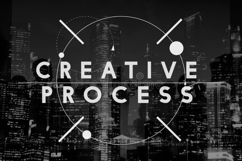 Idérik fantasi Concep för innovation för processkreativitetdesign vektor illustrationer